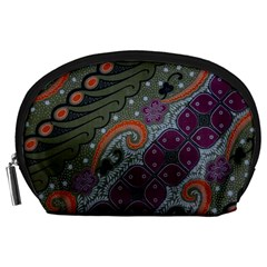 Batik Art Pattern  Accessory Pouches (Large)