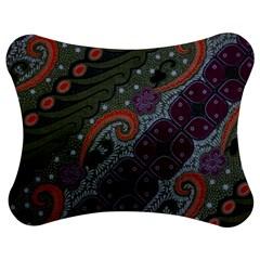 Batik Art Pattern  Jigsaw Puzzle Photo Stand (Bow)