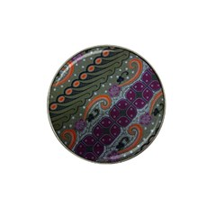 Batik Art Pattern  Hat Clip Ball Marker