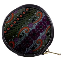 Batik Art Pattern  Mini Makeup Bags