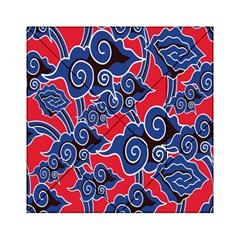 Batik Background Vector Acrylic Tangram Puzzle (6  x 6 )