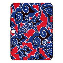 Batik Background Vector Samsung Galaxy Tab 3 (10.1 ) P5200 Hardshell Case