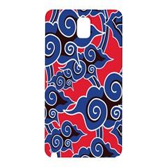 Batik Background Vector Samsung Galaxy Note 3 N9005 Hardshell Back Case