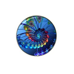 Top Peacock Feathers Hat Clip Ball Marker (10 pack)