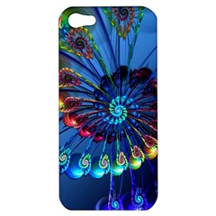 Top Peacock Feathers Apple iPhone 5 Hardshell Case