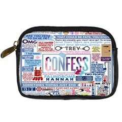 Book Collage Based On Confess Digital Camera Cases
