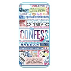 Book Collage Based On Confess Apple Seamless iPhone 5 Case (Color)