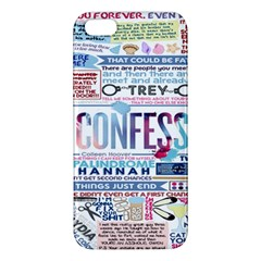 Book Collage Based On Confess Apple iPhone 5 Premium Hardshell Case