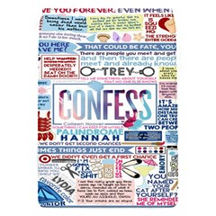 Book Collage Based On Confess Flap Covers (S)