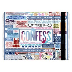 Book Collage Based On Confess Samsung Galaxy Tab Pro 12.2  Flip Case