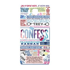 Book Collage Based On Confess Samsung Galaxy Alpha Hardshell Back Case