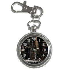 Black technology Circuit Board Electronic Computer Key Chain Watches