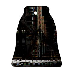 Black technology Circuit Board Electronic Computer Bell Ornament (Two Sides)