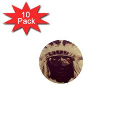 Indian Apache 1  Mini Magnet (10 pack)