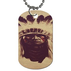 Indian Apache Dog Tag (Two Sides)