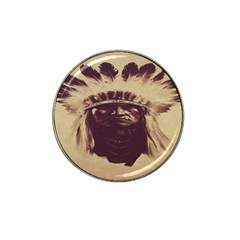 Indian Apache Hat Clip Ball Marker (4 pack)