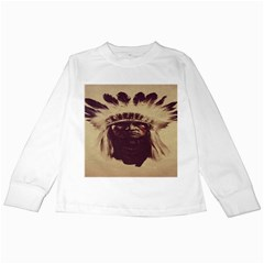 Indian Apache Kids Long Sleeve T-Shirts
