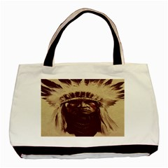 Indian Apache Basic Tote Bag (Two Sides)