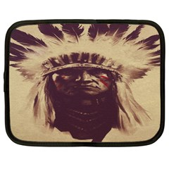 Indian Apache Netbook Case (XL)