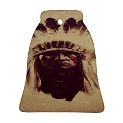 Indian Apache Bell Ornament (Two Sides)