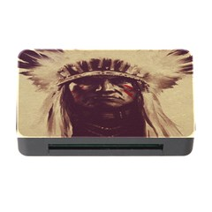 Indian Apache Memory Card Reader with CF