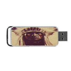 Indian Apache Portable USB Flash (Two Sides)
