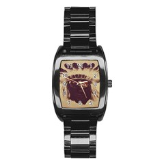 Indian Apache Stainless Steel Barrel Watch