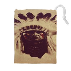 Indian Apache Drawstring Pouches (Extra Large)