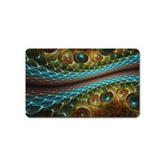 Fractal Snake Skin Magnet (Name Card)