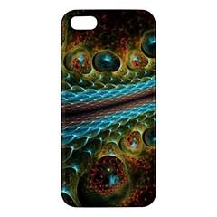 Fractal Snake Skin Apple iPhone 5 Premium Hardshell Case