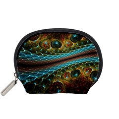 Fractal Snake Skin Accessory Pouches (Small)