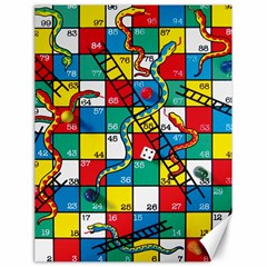Snakes And Ladders Canvas 18  x 24