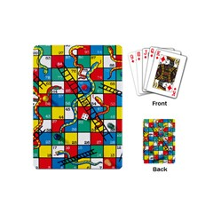 Snakes And Ladders Playing Cards (Mini)