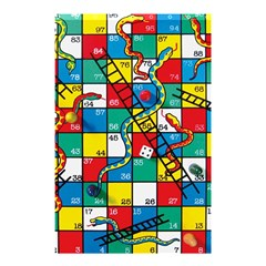 Snakes And Ladders Shower Curtain 48  x 72  (Small)