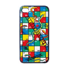 Snakes And Ladders Apple iPhone 4 Case (Black)