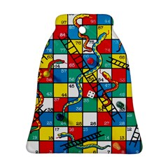 Snakes And Ladders Ornament (Bell)