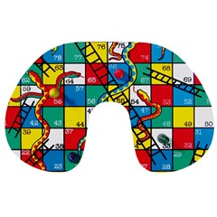 Snakes And Ladders Travel Neck Pillows
