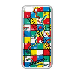 Snakes And Ladders Apple iPhone 5C Seamless Case (White)