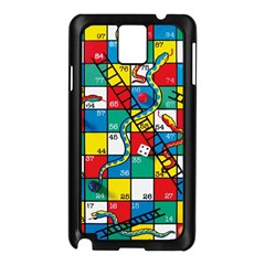 Snakes And Ladders Samsung Galaxy Note 3 N9005 Case (Black)