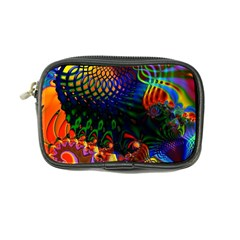 Colored Fractal Coin Purse