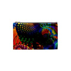 Colored Fractal Cosmetic Bag (Small)
