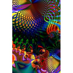 Colored Fractal 5.5  x 8.5  Notebooks