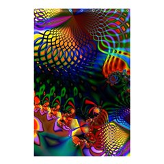 Colored Fractal Shower Curtain 48  x 72  (Small)