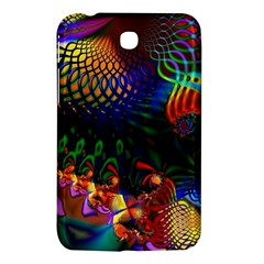 Colored Fractal Samsung Galaxy Tab 3 (7 ) P3200 Hardshell Case