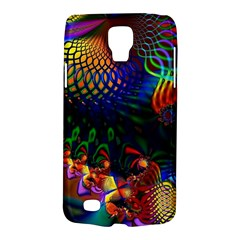 Colored Fractal Galaxy S4 Active