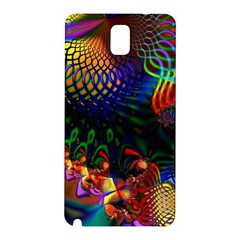 Colored Fractal Samsung Galaxy Note 3 N9005 Hardshell Back Case