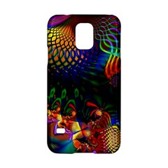 Colored Fractal Samsung Galaxy S5 Hardshell Case