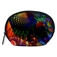 Colored Fractal Accessory Pouches (Medium)