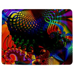 Colored Fractal Jigsaw Puzzle Photo Stand (Rectangular)