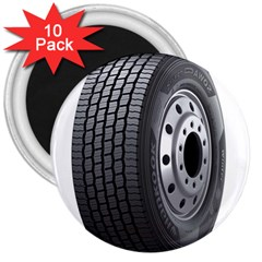 Tire 3  Magnets (10 pack)